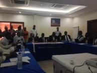 Encerramento do Ciclo de Formação, Guiné Bissau