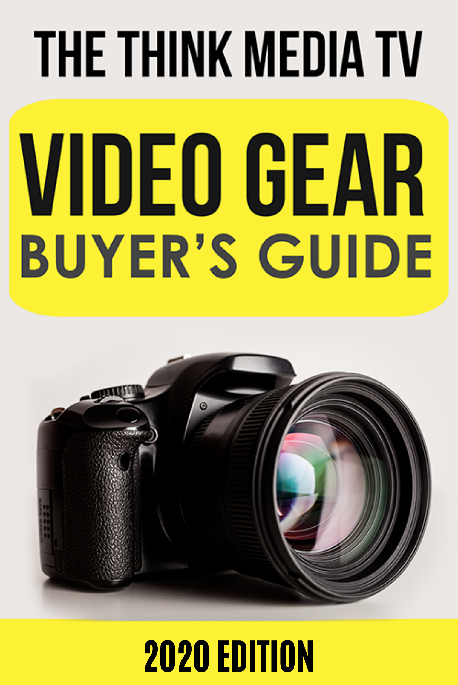 E-book Video Gear Buyer's Guide